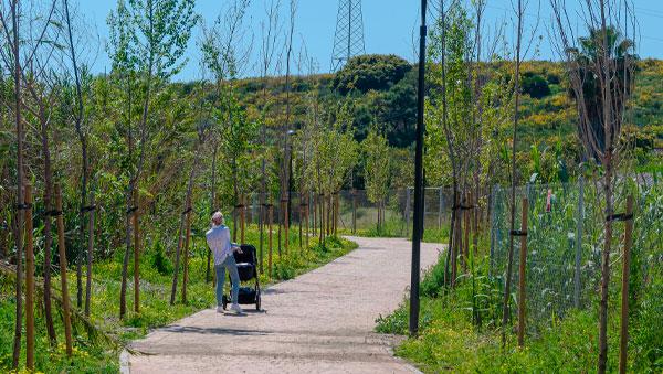 Estepona Promenade from Selwo